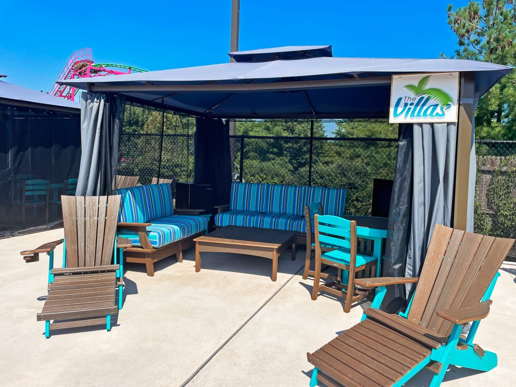 Add some luxury and even more relaxation to your Splash Island Adventure.