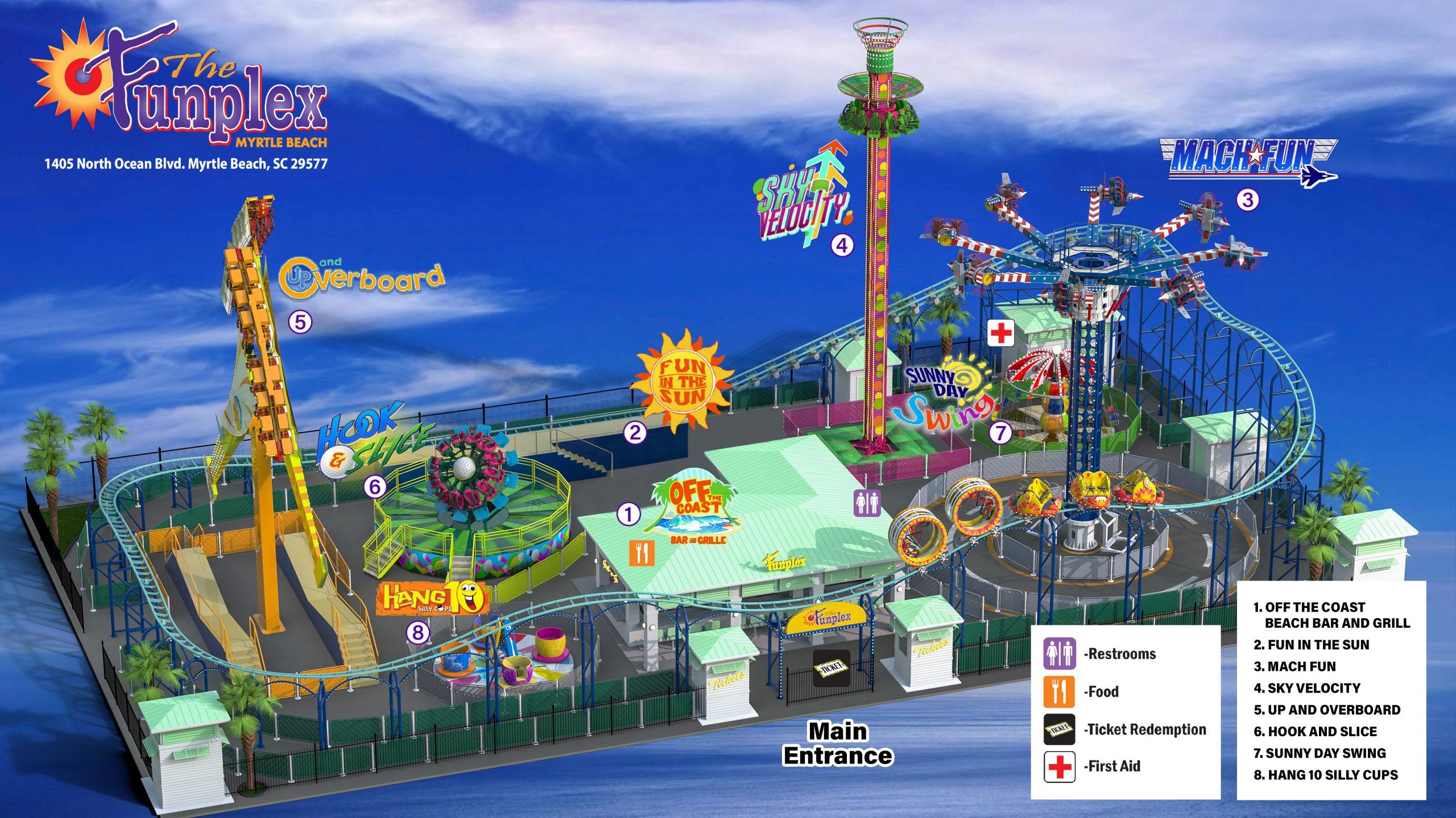 Funplex MB Map