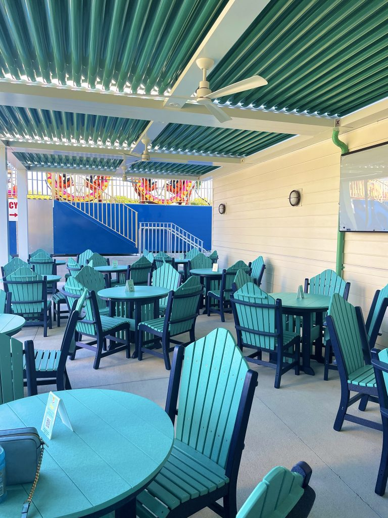 Seating Area at Off the Coast